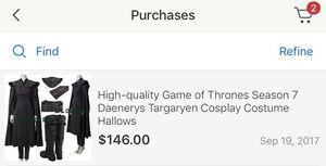 Khaleesi costume for Sale in Seattle, WA