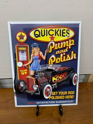 Quickies tin sign for Sale in Lakeland, FL
