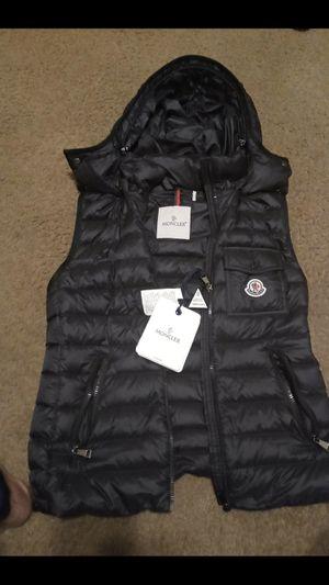 Moncler female size 1 vest xs for Sale in Forest Park, GA