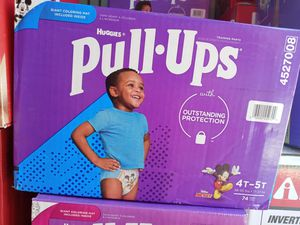 Huggies pull up 4-5t/74ct for Sale in Gardena, CA
