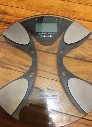 Escali body weight scale for Sale in Brooklyn, NY