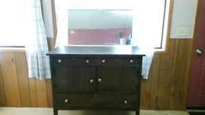 Antique dresser and mirror for Sale in Vancouver, WA