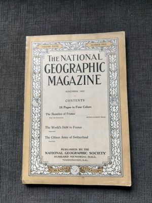 1915 national geographic magazines for Sale in Sunbury, OH