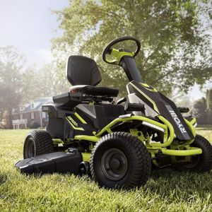 RYOBI 38 in. 75 Ah Battery Electric Rear Engine Riding Lawn Mower for Sale in Fontana, CA