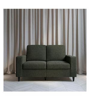 2 Seater Loveseat, Grey Linen for Sale in Las Vegas, NV