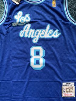 NBA Jersey Kobe Bryant Blue 1996-97 for Sale in Walnut,  CA