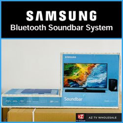 SAMSUNG SOUNDBAR & BLUETOOTH SUBWOOFER SYSTEM - IN BOX! for Sale in Scottsdale,  AZ