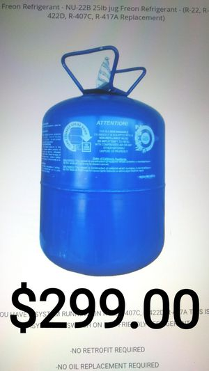 NU 22 Freon Refrigerant R422B 25lb jug R22 Replacement Drop in Substitute for Sale in Houston, TX