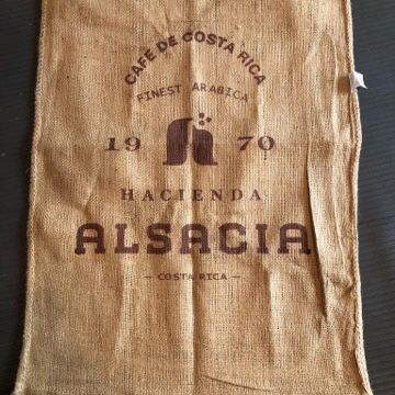 Cafe de Costa Rica Coffee Grain Gunnysack