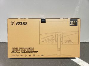 """MSI 32"""" curved gaming monitor MAG322CR Full HD resolution 1920x1080, LED, 180hz, 1ms, Free sync technology, RGB led lights for Sale in Cypress, CA"""