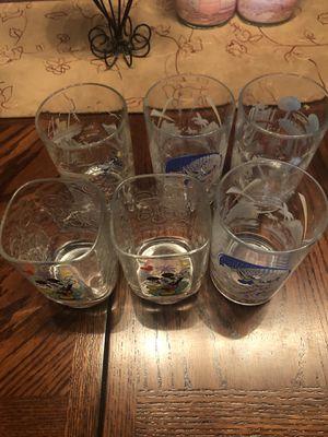 Disney McDonalds Collectible Glasses for Sale in Carmichael, CA