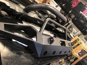Jeep Wrangler Jk front full width bumper for Sale in Burbank, CA