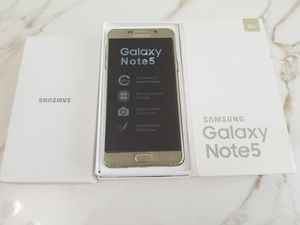 Samsung Galaxy Note 5 New for Sale in Hialeah, FL