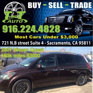 2007 Nissan Quest for Sale in Sacremento, CA