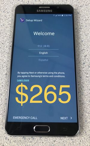 Samsung Note 5 for Sale in Tempe, AZ