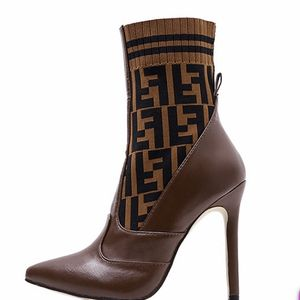 Ankle-high Buffed Calfskin Boots Pointed Toe. High Heel Female Fashion Boot. Size: 41 (10) for Sale in Fort Lauderdale, FL