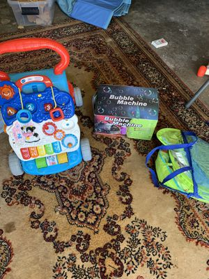 Kids toys and books pool float for Sale in San Diego, CA