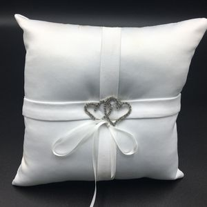 Wedding pillow for 💍 rings.10*10cm Double Heart for Sale in Frisco, TX