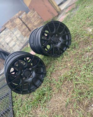 """Black """"Rage"""" Rims for Sale in Deltona, FL"""