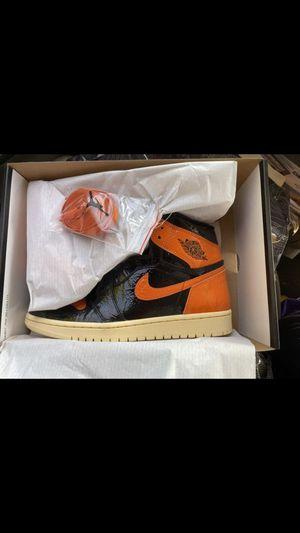 Jordan 1 shattered backboard size 10 for Sale in Pico Rivera, CA