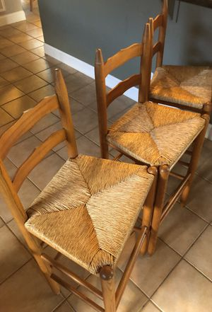 Wooden barstool set for Sale in Southwest Ranches, FL