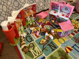 Little Tikes Little People House and Barn for Sale in Tomball, TX