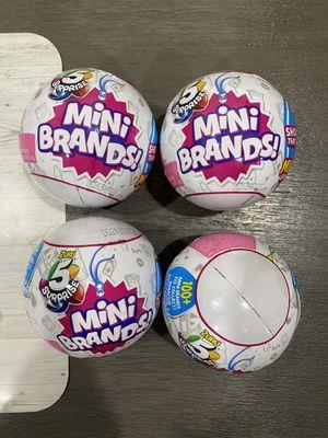 Brand new mini brands for Sale in Las Vegas, NV