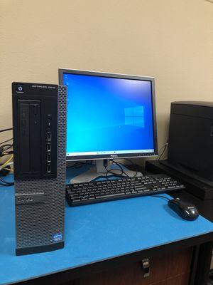 Desktop Package w/ 6GB Ram, Intel Core i3, MS Office, Monitor, Windows 10 Pro 64bit for Sale in Vancouver, WA