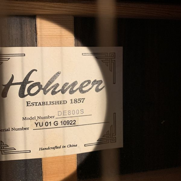 HOHNER 800 Series Acoustic 6 String