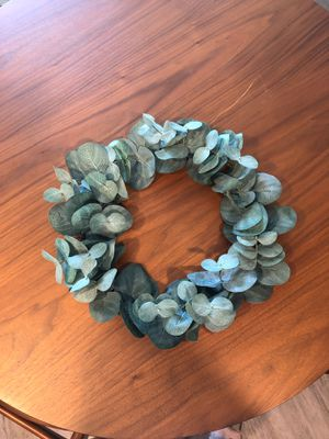 Hearth and Hand eucalyptus wreath for Sale in Sumner, WA