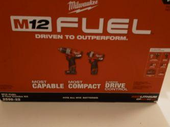 Set Milbocke Nuevo M12 Volts New for Sale in Garland, TX