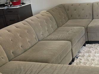 7 Piece modular Sectional Sofa for Sale in Sammamish,  WA