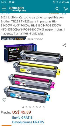 Toner cartridge 4 pack for Sale in Bakersfield, CA