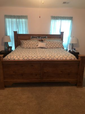 King size bed frame for Sale in Fountain Inn, SC