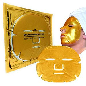 5 Bio-Collagen 24K Gold Facial Masks Anti Anti-wrinkle Aging Skin Hydrating for Sale in Costa Mesa, CA