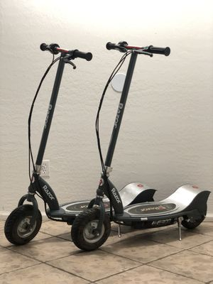 Razor E300 electric scooters with charger, SOLD SEPERATELY for Sale in Mesa, AZ