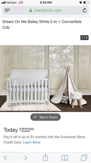 Brand new white crib in box, never opened. for Sale in Chelan, WA
