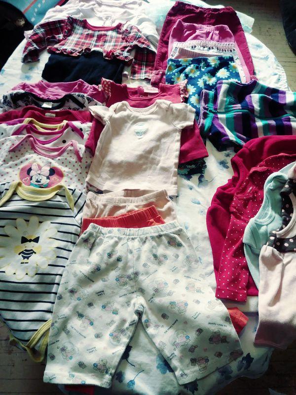 BABY GIRL BUNDLE 90+PIECES