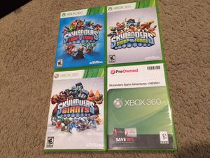 Skylanders Games for XBOX 360 w/Portals for Sale in Kirkland, WA