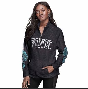 VS Pink Bling Perfect Full Zip Hoodie Jacket XSMALL or Large for Sale in OH, US
