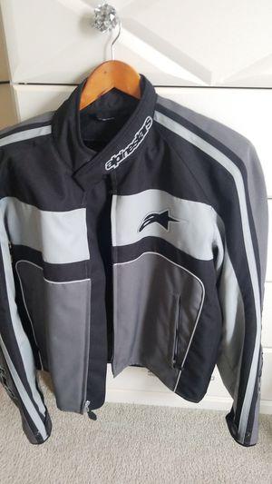 LIKE NEW ALPINESTARS motorcycle jacket. Mens XL. BLACK. for Sale in Tacoma, WA