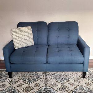 Blue Loveseat for Sale in Hillsboro, OR