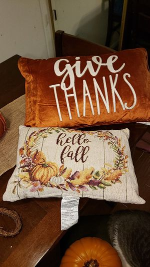 Fall decor pillows for Sale in Lake Forest, CA