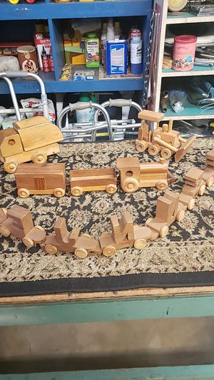 VINTAGE WOODEN TOYS for Sale in Chula Vista, CA