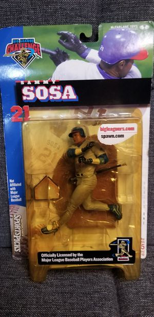 McFarlane Toys Big League Challenge Sammy Sosa Action Figure NIP for Sale in Brooklyn, NY