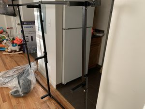 Free metal bed frame adjusts from full to queen size beds for Sale in New York, NY