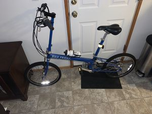 Blue Pocket Companion Folding Bicycles for Sale in Tualatin, OR