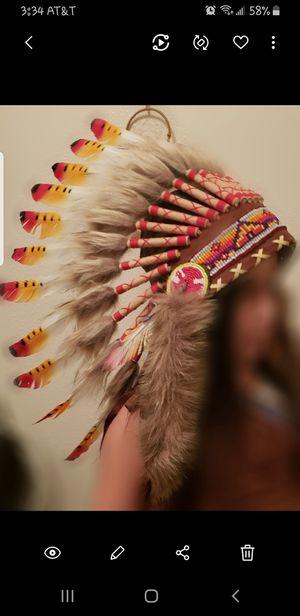 Native head dress for Sale in Dinuba, CA