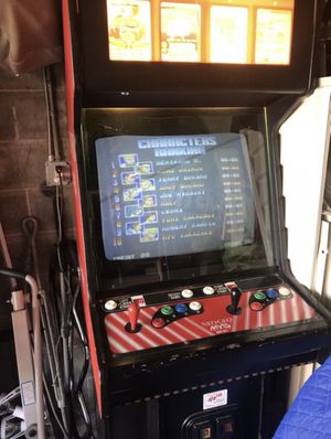 Neo geo arcade game whit a lot off games for 850 or best offer for Sale in Richmond, CA