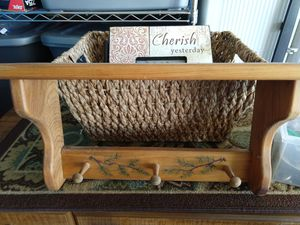 Wood Decorative Shelf for Sale in Dublin, OH